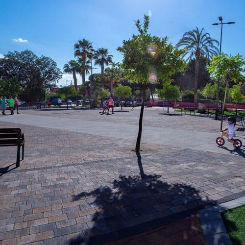 Prefabricados Roda Adoquines Parque